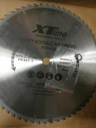 500x30 mm 60 zubů Pilový kotouč s SK plátky XTline - BAZAR NEPOUŽITÝ 2 zuby opravované