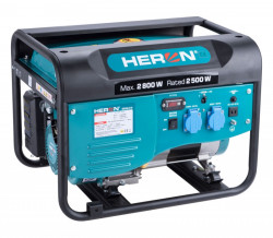 HERON 8896416 elektrocentrála benzínová 2,8kW/6,5HP
