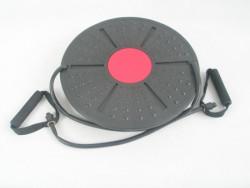 Balanční deska BOARD s posilovací gumou prům. 40cm