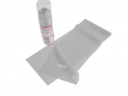 Aerobic guma TPE 1200x150mm, tl. 0,7mm, šedá