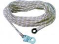 Bezpeènostní lano AC 100 s karabinou, 10m