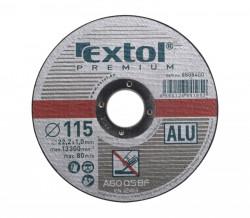 Øezný kotouè 115x1mm na hliník EXTOL PREMIUM