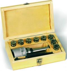 Kleštinový upínač Mk3 se sadou kleštin 4-16mm PROMA