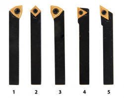 Soustružnické nože HM 8 mm sada 5 ks 3441662