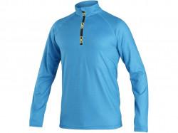 Mikina/tričko CXS MALONE, pánská, středně modrá