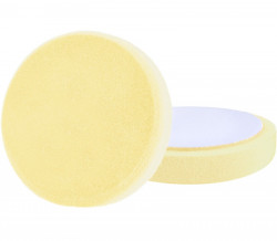 150x30 mm leštící pìnový kotouè T80, žlutý na suchý zip