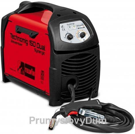 TECHNOMIG 150 Dual Synergic svářečka CO2, RUKAVICE