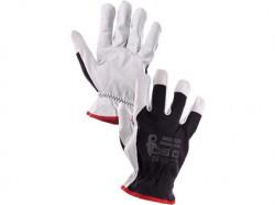Kombinované rukavice TECHNIK PLUS èerno-bílé