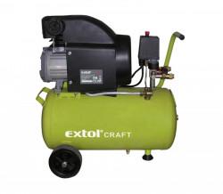 EXTOL CRAFT 418200 kompresor 24itrů, 1500W