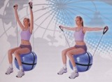 Gymnastický míè posilovací 75cm 0143