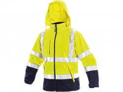 Reflexní bunda žluto-modrá DERBY