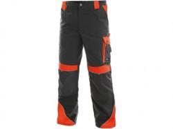 Kalhoty do pasu CXS SIRIUS BRIGHTON šedo-červená