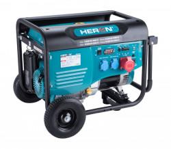 HERON 8896418 elektrocentrála benzínová 15HP/6,8kW (400V), 5,5kW (230V)