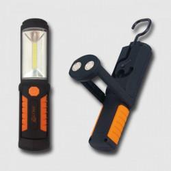 Svítilna pracovní COB-LED 3W + 5 LED CORONA