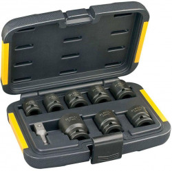 "Sada průmyslových hlavic 10-27mm 1/2"" 9dílů DeWALT"