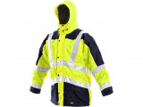 Reflexní bunda žluto-modrá LONDON 5v1