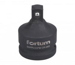 """Redukce 3/4"""" F - 1/2"""" M FORTUM 4703108"""