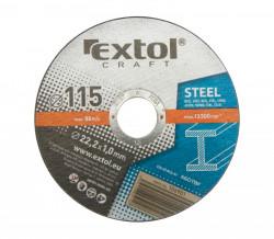 Øezný kotouè 115x1 5ks EXTOL CRAFT ocel