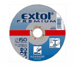 Brusný kotouè 150x6,0 EXTOL PREMIUM 8808705 na ocel