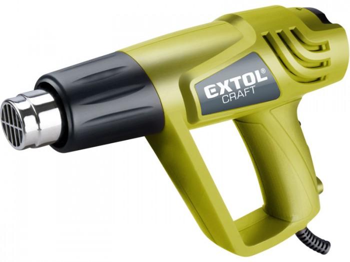 Pistole horkovzdušná v kufru 2000/1000W, 550/350°C EXTOL CRAFT