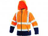 Reflexní bunda oranžovo-modrá DERBY