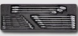 HONITON HA015 Sada očkoplochých klíčů 6-24mm na platu