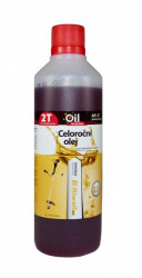 Celoroèní olej Riwall pro 2-taktní motory 0.5l