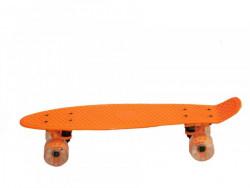 PENNYBOARD SUPER 56x15cm Skateboard oranžový