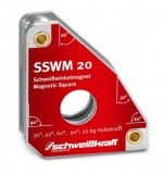 Magnetický úhelník 140x111mm 20kg SSWM 20