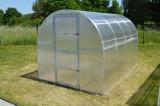 KYKLOP 2x3m skleník 6m2 PC 4mm + teplomìr, tyèe, èis. prostø.