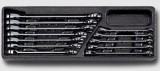HONITON HA025-21 Sada ráènových klíèù 8-19mm na platu