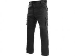 Kalhoty VENATOR černé, odnímatelné nohavice DOPRODEJ