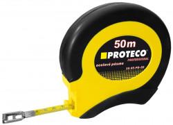 Měřící pásmo 50m x 12.5mm ocelové PROTECO