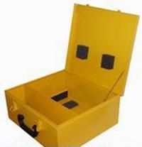 Kufr pro invertory OMICRON žlutý