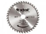 350x2,5x30 mm 40 zubù Pilový kotouè EXTOL PREMIUM