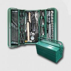 HONITON Montážní basa na nářadí kovová vybavená 68 dílů HA106
