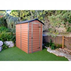 Skylight 4x6 hnědý zahradní domek 177x122cm