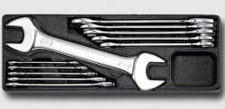 HONITON HA066 Sada plochých klíčů 6-32mm na platu