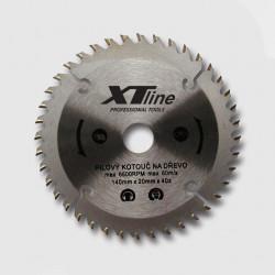 250x2,5x30/25,4, 20, 16mm 80 trapézových zubů Kotouč pilový XTline