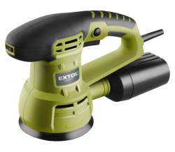 EXTOL CRAFT 407202 bruska excentrická 125mm 430W + METR