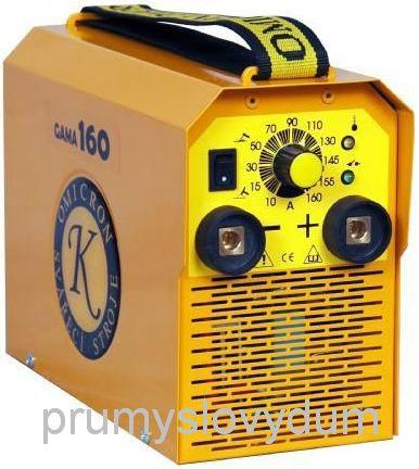 GAMA 160 svářecí invertor + kabely