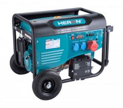 HERON 8896420 elektrocentrála benzínová 15HP/6,8kW (400V) 5,5kW (230V)