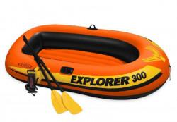 EXPLORER PRO 300 SET pro 2 osoby a 1 dítě oranžovo/žlutý
