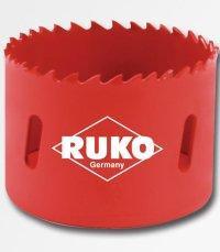 16mm Vrtací korunka do kovu BI-metal HSS RUKO