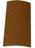 Brusný list 93x230mm zrn. 80