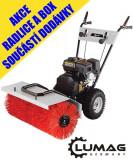 LUMAG KM 800 motorový kartáè - ZDARMA radlice a box
