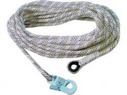 Bezpeènostní lano AC 100 s karabinou, 20m