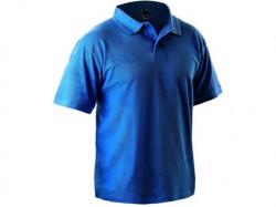 Tričko MICHAEL kr. rukáv s límečkem středně modré