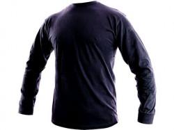 Tričko PETR dlouhý rukáv tmavě modré 2704