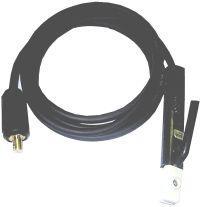 Svářecí kabel s držákem elektrod 3m/25mm2 10-25